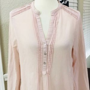 Zara blush pink tunic size small